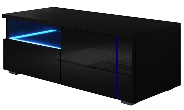 tv schrank mit led beleuchtung groupon goods. Black Bedroom Furniture Sets. Home Design Ideas