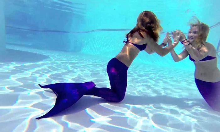 Doctorscuba - Doctorscuba: Lezione di nuoto con la coda da sirena o da Tritone più lezione di yoga con associazione Doctorscuba (sconto fino a 70%)