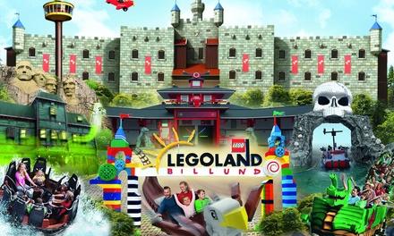 Familieticket voor 1 of 2 dagen voor LEGOLAND® Billund in Denemarken voor 35 personen