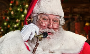 PackageFromSanta.com: Up to Six Personalized Santa Phone Calls from PackageFromSanta.com (Up to 61% Off)