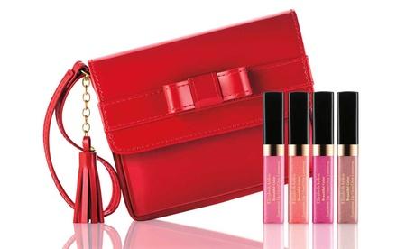 Set di 4 rossetti con borsetta Elizabeth Arden