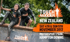 Tough Mudder: Tough Mudder Auckland Full Entry for 1-8 People, 4-5 November 2017 at Hampton Downs Motorsport Park (Up to $1592 Value)