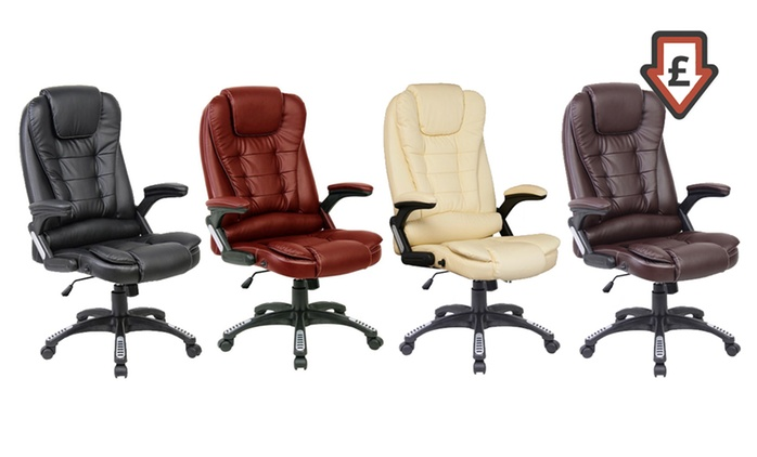 Executive Reclining Office Chairs (from £59.99) or Massage Chairs (from £119.98) With Free Delivery
