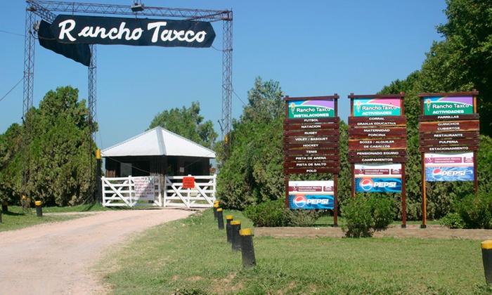 Rancho Taxco - Rancho Taxco: Desde $339 por día de campo + parrillada y piletas en Rancho Taxco