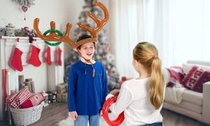 Jeu de lancer d'anneaux Noël