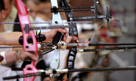 Archery Package for Two or Four with Lesson, Gear and Lane Rental, and Targets at Archery Central (Up to 52% Off)