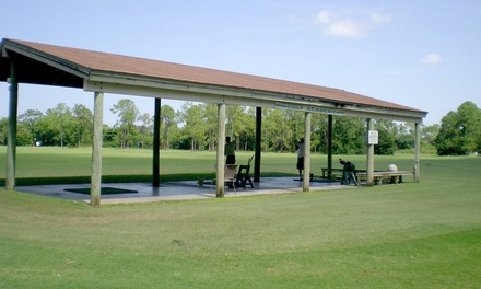 240 or 400 Range Balls, or $30 Value at Golf World Discount Shop and Driving Range (Up to 50% Off)