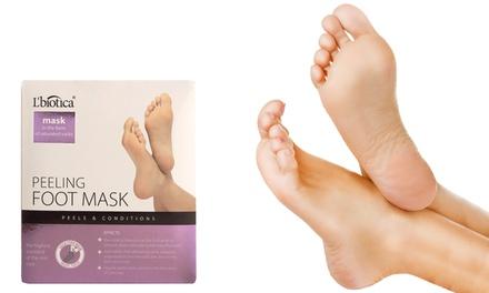 Hasta 4 pares de calcetines exfoliantes para pies 40 ml