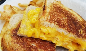 $10 or $20 Worth of Food for Two or Four at AJ's Gourmet Grilled Cheese
