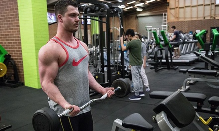 1-Month Gym Membership for 1 ($15) or 2 People ($25) (Plus $20 Keycard Fee) at Fit Express Australia (Up to $111.52)