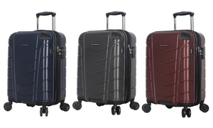 Ciao Conquest Smart Carry-On Luggage with USB Charging Port