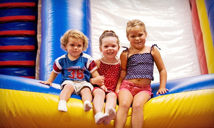 Bounce USA - 6: $14 for Four Open-Play Passes at Bounce USA ($28 Value)