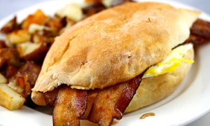 The Gathering: American Breakfast or Lunch at The Gathering (Up to 25% Off)