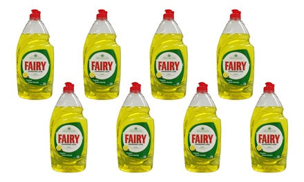 $29 for an EightPack of Fairy Hand Dishwashing Liquid 870ml Don't Pay $78