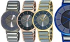 Oniss Men's Slim Stainless Steel and Tungsten Watch: Oniss Men's Slim Stainless Steel and Tungsten Watch