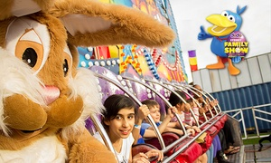 The Dodo Sydney Family Show: The Dodo Sydney Family Show: 4Hrs of Unlimited Rides for One ($19) or Four People ($64) at Moore Park (Up to $110 Value)