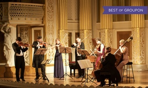 Candlelight Concerts: London Concertante: Bach Violin Concertos on 21 April at St Patrick's Cathedral (Up to 41% Off)