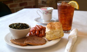 The Acorn Restaurant At Red Oak Manor: American Food at The Acorn Restaurant at Red Oak Manor (67% Off). Two Options Available.