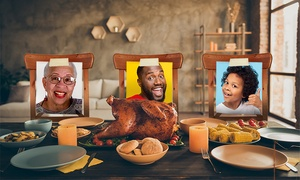 Family Thanksgiving Stand-Ins
