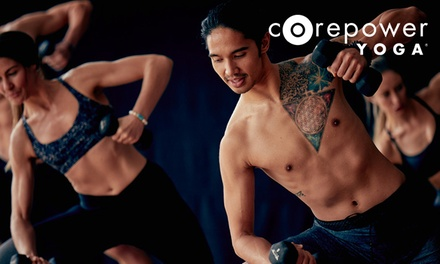 $84 for One Month of Unlimited Yoga Classes at CorePower Yoga ($159 Value)