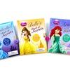 Disney Princess Diary with Heart-Shaped Lock 4-Pack