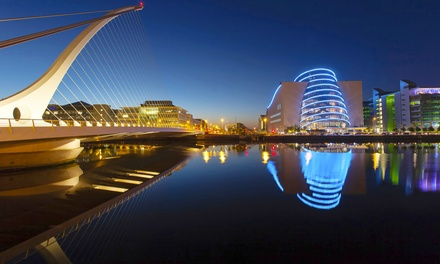 Dublín: 1-4 semanas de curso inglés general para 1 pers en Castleforbes College con alojamiento y desayuno