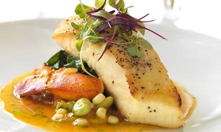 Menu Gourmet en 4 services pour 2 personnes au restaurant Den Boomgaard pour 59,99 €