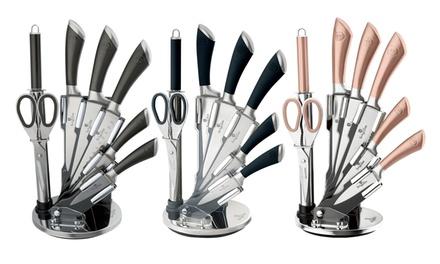 Bloc couteaux 8 pièces Berlinger Hauss, coloris aux choix