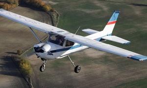 Aeroklub Gdański: Lot samolotem C152 ze szkoleniemod 149,99 zł z Aeroklubem Gdańskim