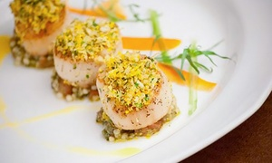 Ice Restaurant: Contemporary American Cuisine for Dinner for Two or Four at Ice Restaurant & Bar (Up to 42% Off)
