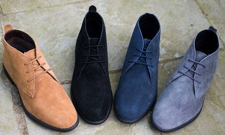 Derbies en cuir suédé Redfoot