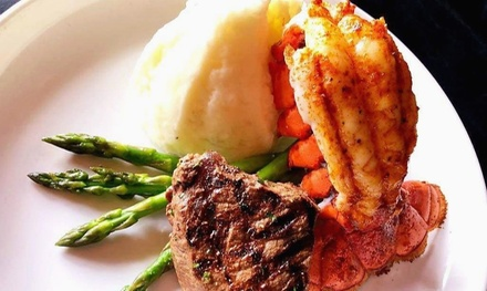 Surf & Turf Seafood Dinner for Two or Four at Tom's Oyster Bar (Up to 38% Off)