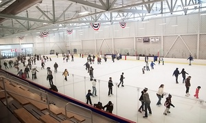 FMC Ice Sports: Admission to Public Skate for Two or Up to Four from FMC Ice Sports (Up to 50% Off)