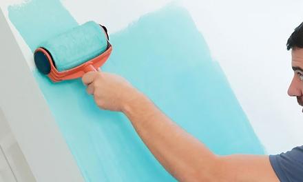 Rouleau de peinture anti éclaboussures avec réservoir