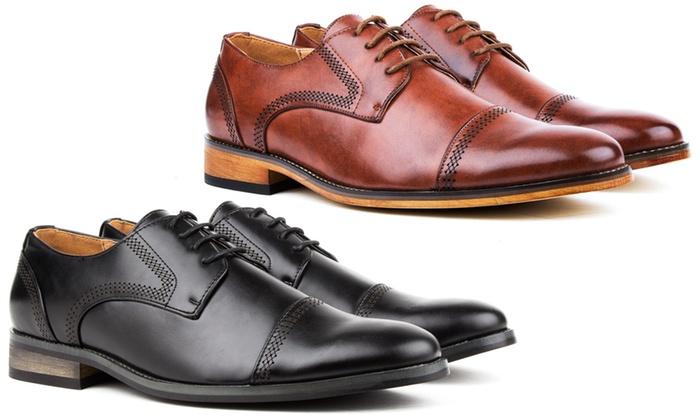 Signature Men s Cap Toe Oxfords Dress Shoes  99c58cb2fa3