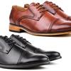 Signature Men's Cap Toe Oxfords Dress Shoes