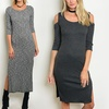 Women's Ribbed Dresses