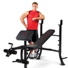 Marcy Club Standard Weight Bench