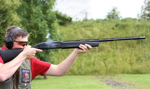Sporting Targets: Clay Pigeon Shooting for Two or Four at Sporting Targets, Bedford (Up to 66% Off)