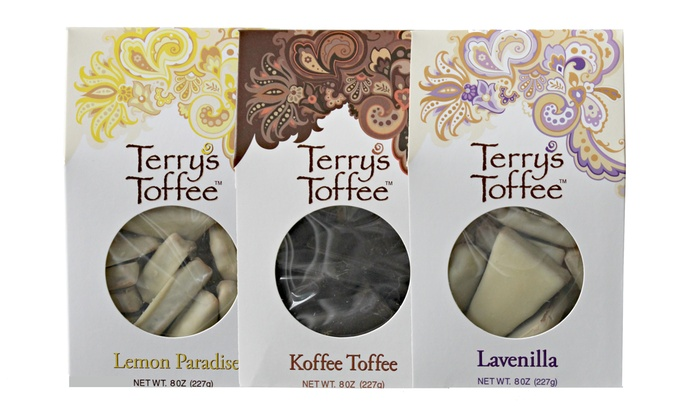 Box of Toffees (1.2lbs.) from http://www.terrystoffee.com/index.php