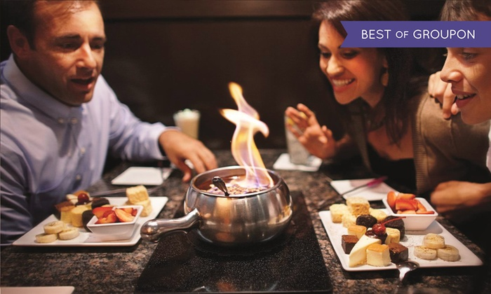 The Melting Pot of Atlantic City - Duck Town: Four-Course Fondue Dinner for Two or Four at The Melting Pot of Atlantic City (Up to 43% Off)