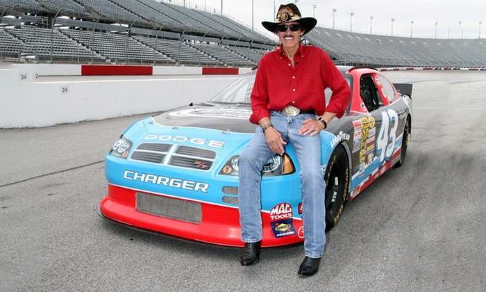Richard petty driving experience up to 50 off concord for Ride along charlotte motor speedway