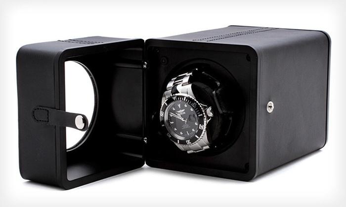 Swiss Watch International Winder: $34.99 for a Swiss Watch International Single Watch Winder ($350 List Price)