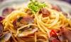 Déjeuner italien menu au choix