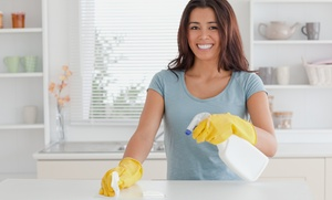 One Or Two Two-hour House-cleaning Sessions From Black Tie Maid Service, Llc (up To 63% Off)