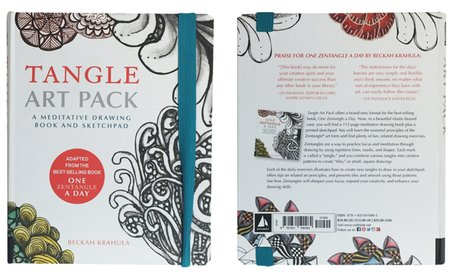 Tangle Art Pack: A Meditative Drawing Book and Sketchpad!