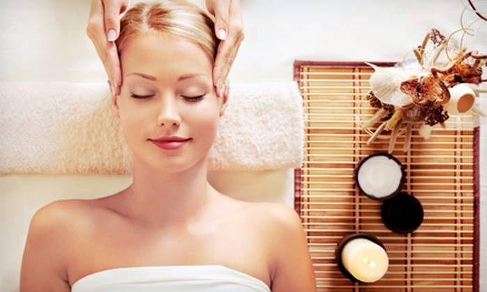 Nails 2 GoGo - Ward 6: 60-Minute Massage with Optional Deluxe S.P.A. Facial at Nails 2 GoGo (Up to 53% Off)