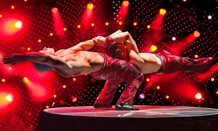 "V The Ultimate Variety Show - V Theater: ""V - The Ultimate Variety Show"" for One or Two at the V Theater (Up to 52% Off)"