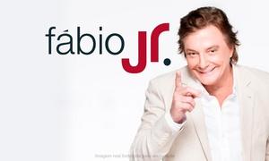 GP Produções: Fábio Jr. – Red Eventos Jaguariuna: 1 ou 2 ingressos para pista lateral, área VIP ou camarote no dia 15/10, às 22h
