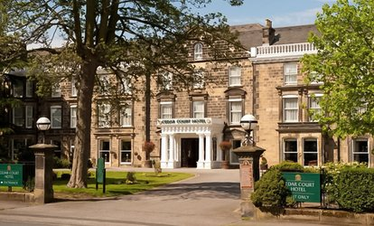 image for Traditional or Sparkling Afternoon Tea for Two or Four at Best Western Plus Cedar Court Hotel Harrogate(Up to 51% Off*)